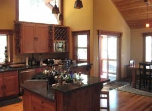 Hansel Lodge Kitchen