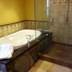 Hansel Lodge Downstairs Master Bathroom