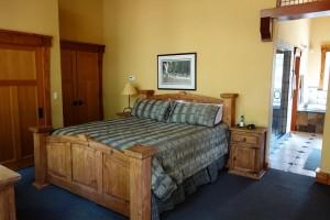 Hansel Lodge Upstairs Master Bedroom